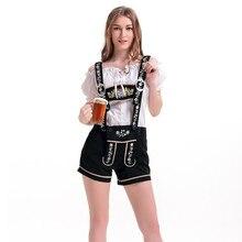 Sexy Women German Beer Maid Wench Dirndl Costume