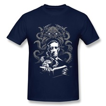 Normal Short Sleeve Love Cthulhu men t-shirt Cheap Sale Pre-cotton T Shirts for men's