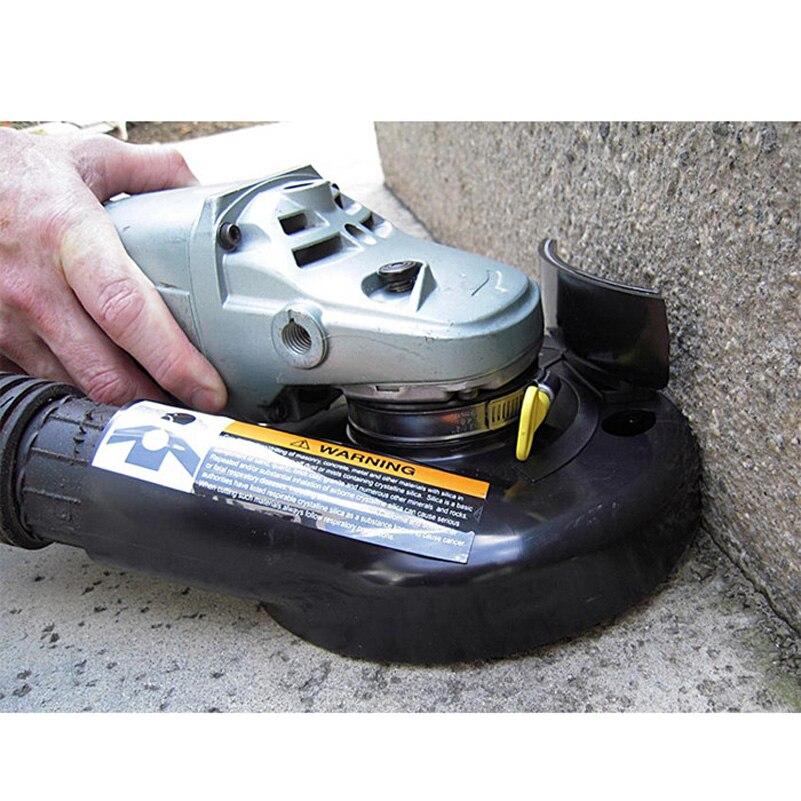 """7 pulgadas 7 """"180mm Kit de cubierta de polvo de molienda al vacío para amoladora angular amoladora manual Convertible Universal"""