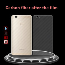 Back Carbon Fiber Soft Film Cover For Huawei Honor NOTE 8 EDI-AL10 Clear Screen Protector Cover Film Scratch-protection Sticker(China)