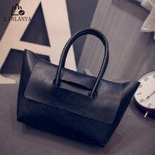 LINLANYA Fashion Women bag PU handbag Ladies Messenger Bags Top-Handle Bags High Quality Female Bags 3 colors to choose Z-382