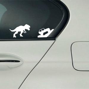 Автомобильные наклейки для Jeep T-rex Tyrannosaurus Rex виниловые наклейки с динозавром для Jeep Car Window украшение для ноутбука