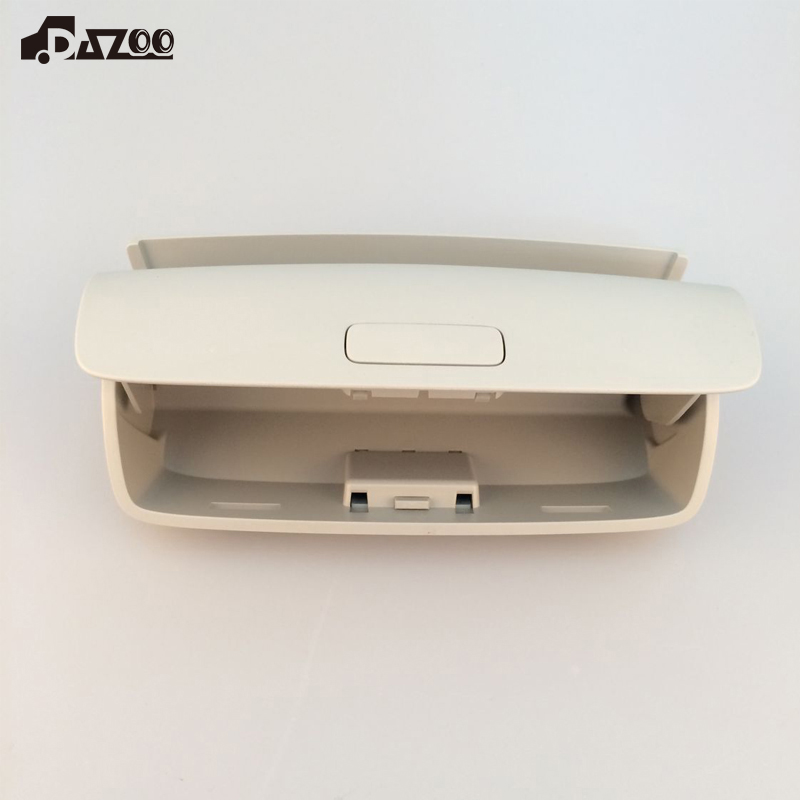 DAZOO New OEM Gray Sun Glasses Case Sunglasses Box For VW Tiguan Golf MK5 MK6 Passat B7 CC Superb 1K0868837 1KD868 837