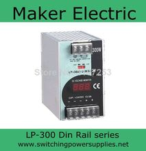 300W 24v din rail power supply With the function of measuring LP 300 24