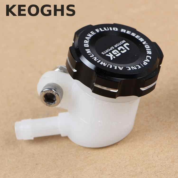 Keoghsオートバイのブレーキマスターシリンダー貯水池キャップ/カバー 35 ミリメートル内径cncアルミadelinためPx1 ためfrando 7nb