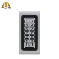 Waterproof Metal Keypad 13.56Mhz IC Card Standalone Door Access Control System M06 Card Access Controller