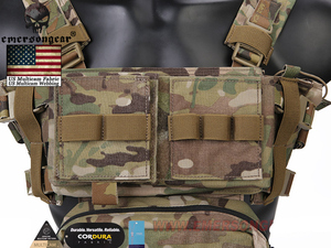 Image 5 - Emerson Telaio MK3 Mini Tactical Chest Rig Spiritus di Caccia di Airsoft Della Maglia Ranger Verde Militare Gilet Tattico w/ Magazine Pouch