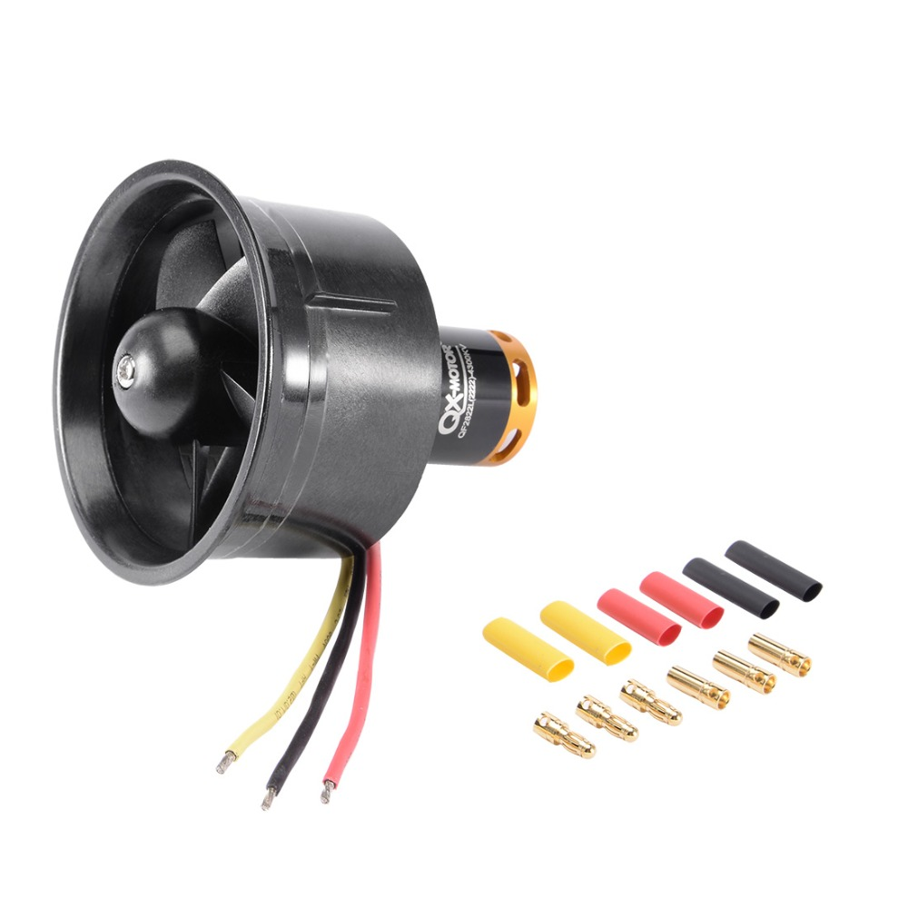 купить 64mm 5 Blades Ducted Fan EDF Jet Engine with 4300KV 3-4S RC Brushless Motor for RC Airplane Motors & Parts по цене 1243.63 рублей