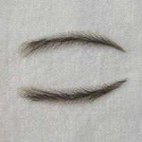 Phóng mặt bằng bán Màu nâu Sẫm Hàn Quốc Ren lông mày tóc giả, lady eye mày tóc gi
