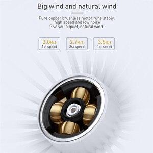 Image 4 - Baseus protableハンドヘルドファン 3 高速ミニusb充電式扇風機 1500mah powerbankバッテリー静音デスクトップパーソナル冷却ファン