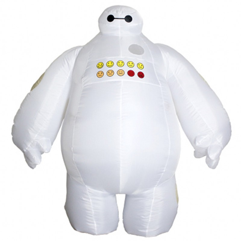 Fashion Baymax Superman Captain American Inflatable Costume For Adults Kids Fan Cosplay Cook Funny Inflatable Costumes Hallowen