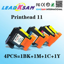 Kompatibel untuk HP11 C4810A C4811A C4812A C4813A Printhead Print Head 1000 1100 1200 2200 2280 2300 2600 2800 K850 100 500 9100(China)