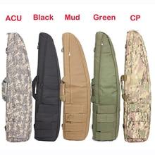 ФОТО  95cm Military Army Tactical Gun Bag Airsoft Gun Case Outdoor Hunting Pistol Bag Case Carbine Gun Case
