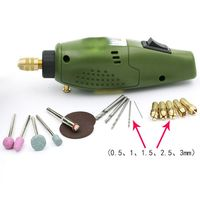 12V DC Grinder Tool For Milling Polishing Drilling Engraving Mini Electric Drill Accessories Electric Grinding Set