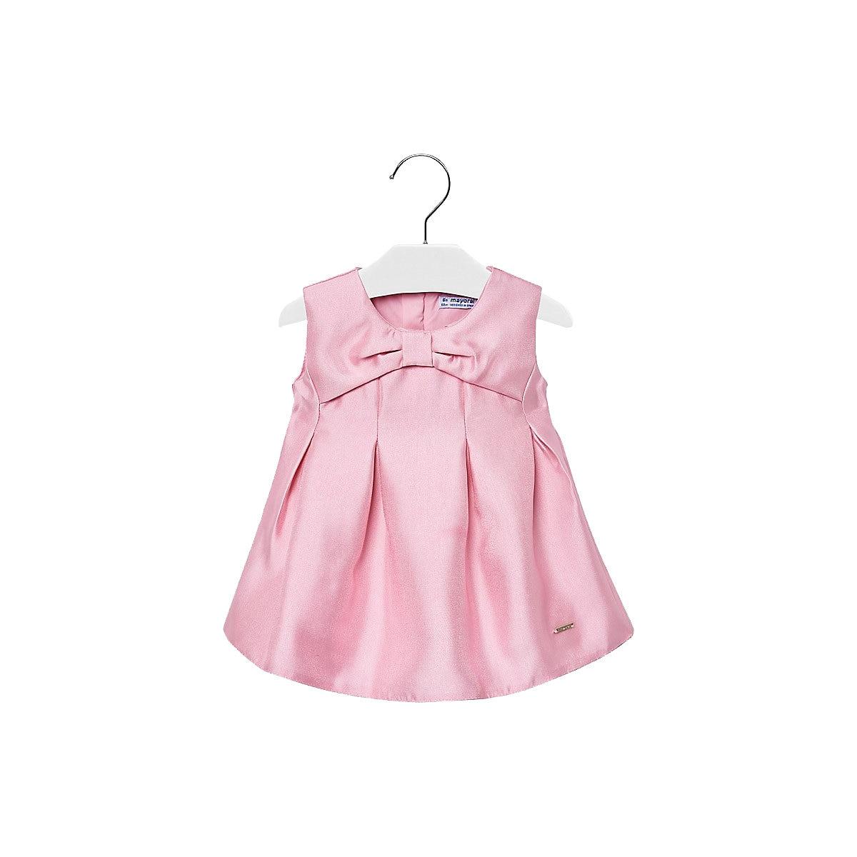 MAYORAL Dresses 10678708 dress for girls baby clothing fashion slim family long sleeve mesh dress for girls