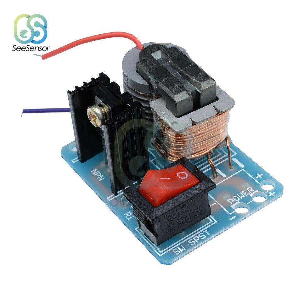 15кВ высокая частота постоянного тока Высокое напряжение дуговой зажигания Генератор Инвертор Boost повышающий трансформатор электронные Запчасти Набор DIY Kit