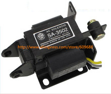 SA 3502 AC 220V 3kg Force 20mm Stroke Pull Type Solenoid Electromagnet,Power Accessories