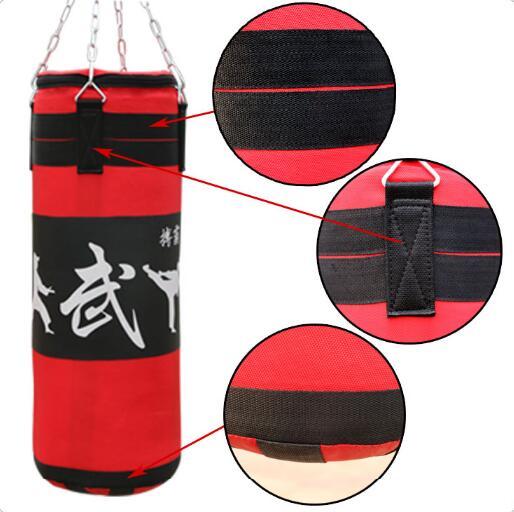 100cm High quality Durable hanging boxing sandbag Punching Bag Fitness Sand Bag100cm High quality Durable hanging boxing sandbag Punching Bag Fitness Sand Bag