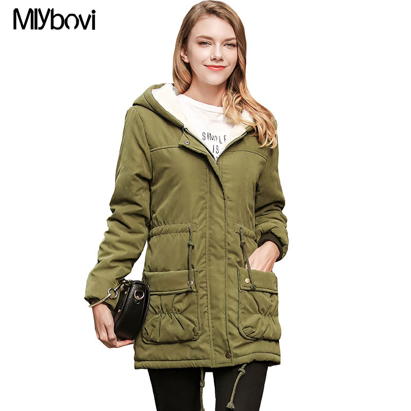 Us 28 42 50 Off Women Winter Coat Jacket Warm Woman Parkas Female Overcoat High Quality Quilting Cotton Coat Mlybovi New Winter Collection In Parkas