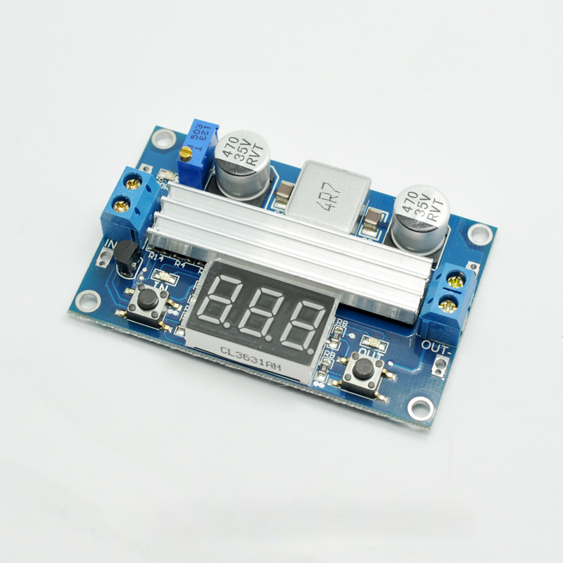 High-power DC-DC adjustable DC boost module, 12V 19V high efficiency, automotive notebook power supply