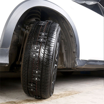 Anti-Slip Universal Black Emergency Tire Chain