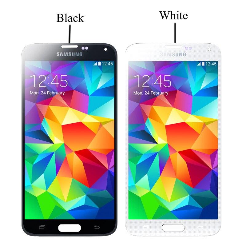 Image 5 - Pour Samsung Galaxy S5 écran LCD G900 I9600 G900f G900a écran LCD et écran tactile numériseur assemblage avec outils adhésifsÉcrans LCD téléphone portable   -