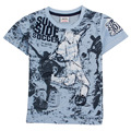 child wear 2016 nova kids summer style children clothes short sleeve printed sportsman boy t-shirt  baby boys clothes top tee