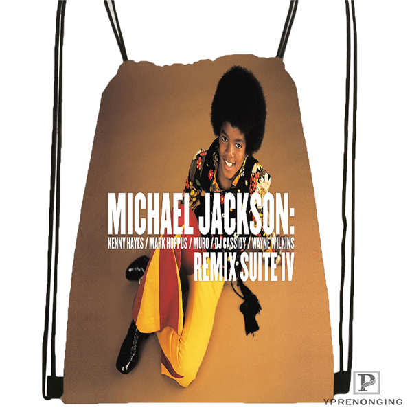 Custom Jimi Hendrix 1 Drawstring Backpack Bag Cute Daypack Kids Satchel Black Back 31x40cm 2018612 01