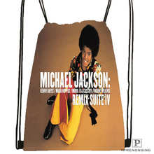 Custom Jimi-Hendrix@1 Drawstring Backpack Bag Cute Daypack Kids Satchel (Black Back) 31x40cm#2018612-01-21
