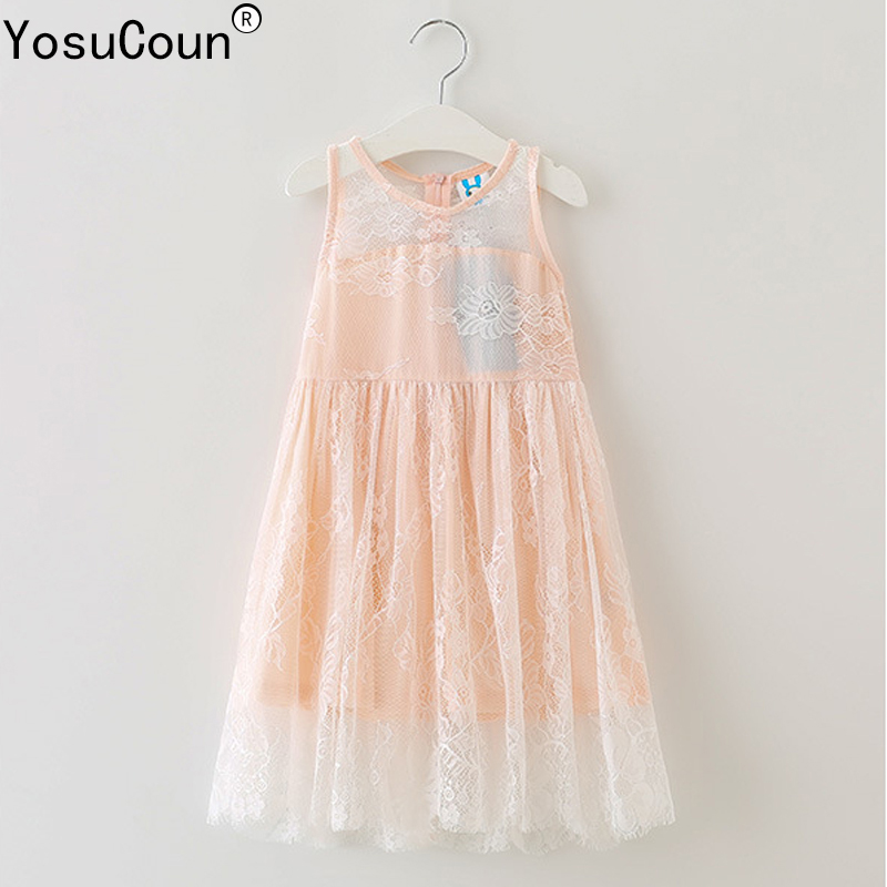 4-14 Years Girl Princess Dresses For Girls Dress Clothes For Evening Dress  Lace Costume f1d65b166efe