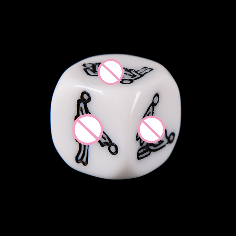 1Pc Night Light Sex Game Dice Adult Erotic Games Sex Toys Dice Romance  Foreplay Dice Lighted Erotic gifts dice sexy Couple Gift