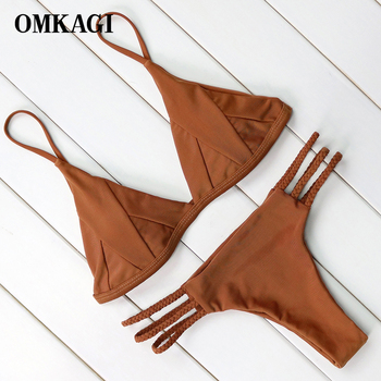 Hot Sexy Brazilian Bikini 2018 Swimwear Women Swimsuit Bathing Suit Biquini Bikini Set Bandage Swim Suit Maillot De Bain Femme