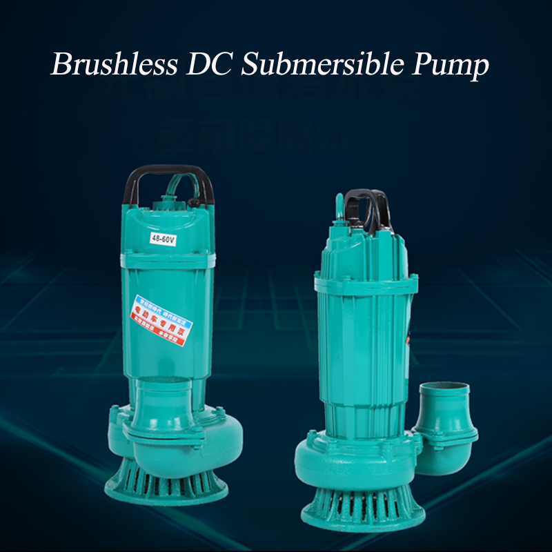 Brushless dc submersible pump ZQB 48V 60V submersible pump DCBL PUMP for well bldc pump for irrigation 51mm dc 12v water oil diesel fuel transfer pump submersible pump scar camping fishing submersible switch stainless steel