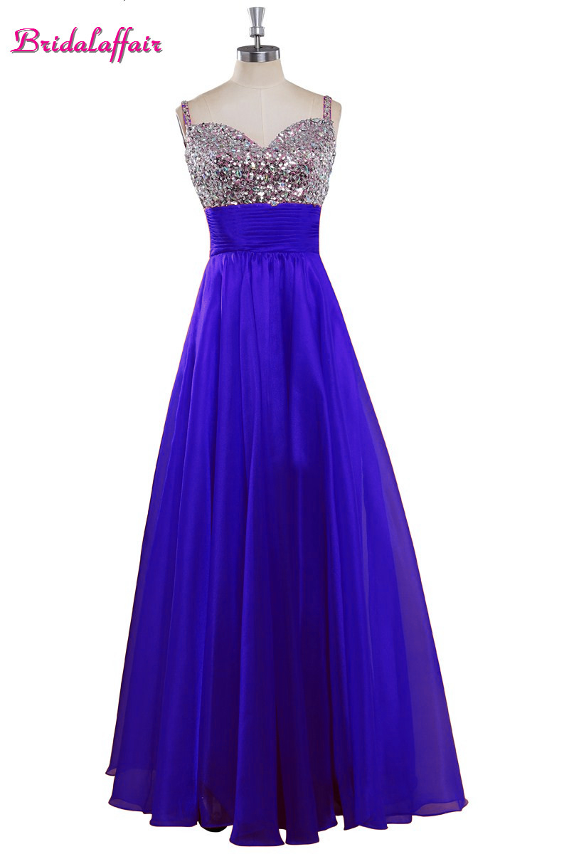 Sweetheart Sequin Blue   Prom     Dresses   2019 Lace up Evening   Dresses   Chiffon Crystal   Prom     Dresses   Sexy vestidos de festa longo
