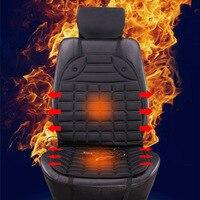 Sebter Heated Car Seat Electric Heated Winter Cushion Double Faced Heated Pad Winter Car Seat Cushion
