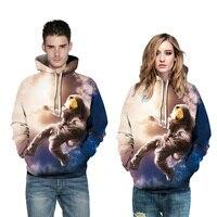Casual Hoodies Sweatshirts 3D Men Women Hoody Sweatshirt Funny 3D Print Fashion Front Pocket Brand Hooded