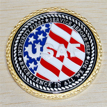 The sample order,U.S. Air Force Veteran Challenge Coin hoyle t the challenge