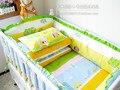 La mejor opción para el Niño 100% Algodón Del Lecho Del Bebé bebé Nursery Bedding Sets Incluyen Topes En La Cuna 10 $ number pcs/set