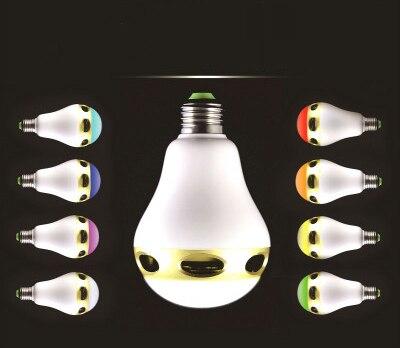 Draadloze Muziek Knipperende gekleurde Lichten Smart Kleurrijke LED Bluetooth Speaker Hi Kwaliteit Verlichting Controle Tricolored Bollen - 2