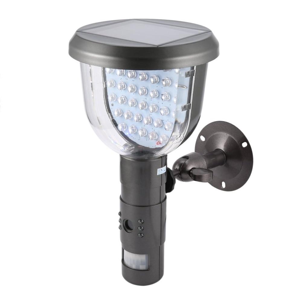 720P HD Solar IP Camera CCTV Security Camera DVR Recorder PIR Motion Detection With 39 IR LEDS Solar Floodlight Street Lamp недорго, оригинальная цена