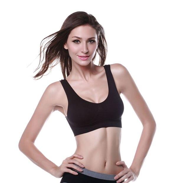 741d84b0f9 bras for women sport bra girls white black skin color push up brassiere  casual seamless tops for ladies 2015 hot sale bralette-in Bras from  Underwear ...
