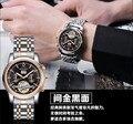 Fashion Classic Tourbillon Men Automatic Watches Elegant Business Dress Wristwatch Calendar Analog Relojes Saphir 3ATM NW2841