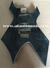 Afanti Música de guitarra DIY DIY de la guitarra Eléctrica de cuerpo (AJB-71)