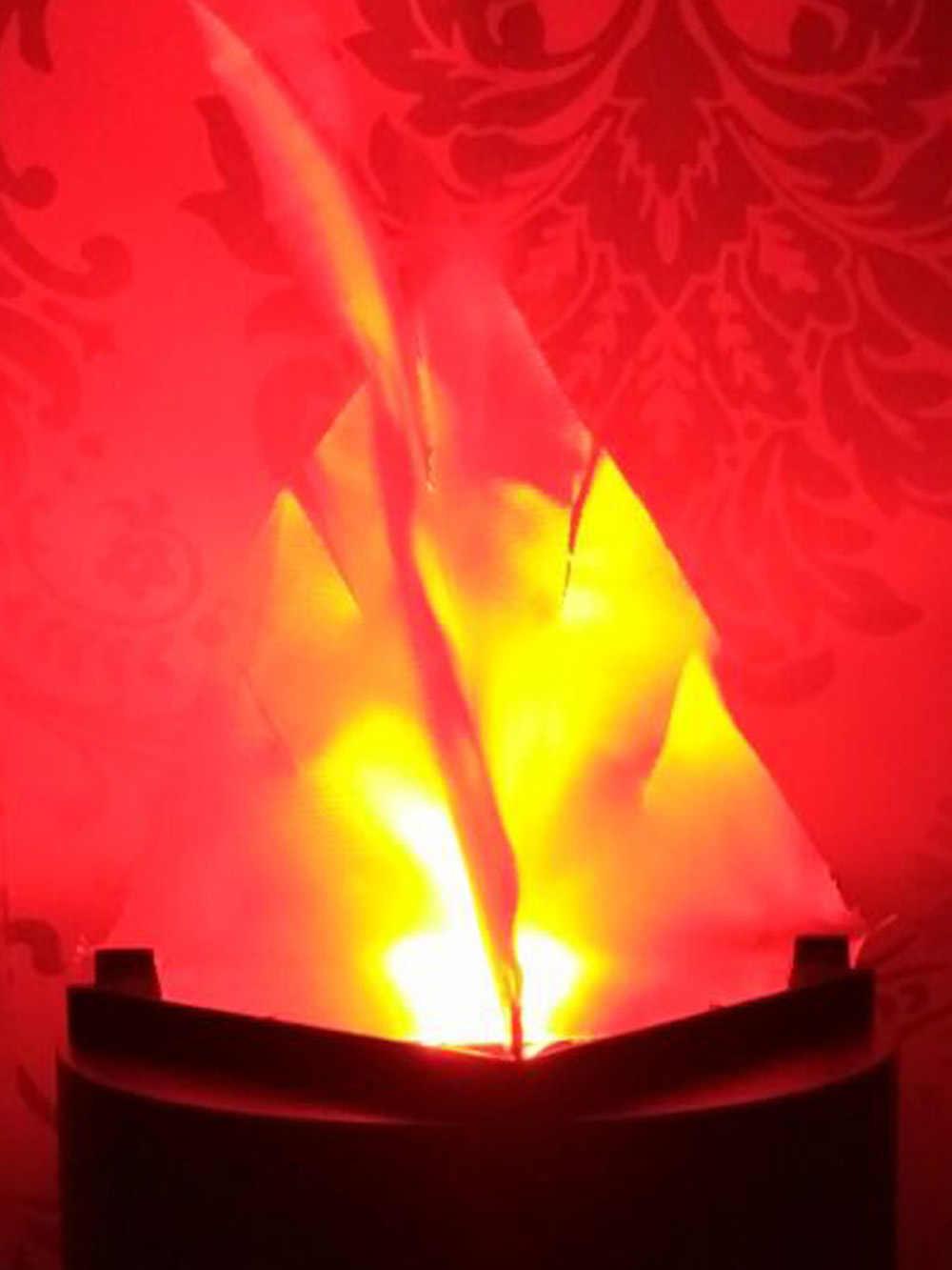 aimbine flame light lamp