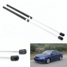 for 2004-2006 2007 2008 Mazda 6 Hatchback 22.44 inch Hatch Boot Gas Charged Spring Lift Supports Struts Prop Rod Arm Shocks