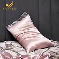 16m/m Silk pillowcase A/B side Tencel & silk Pillowcase RUIYEE brand Satin Pillow Cover 100% pure mulberry Silk Pillow case