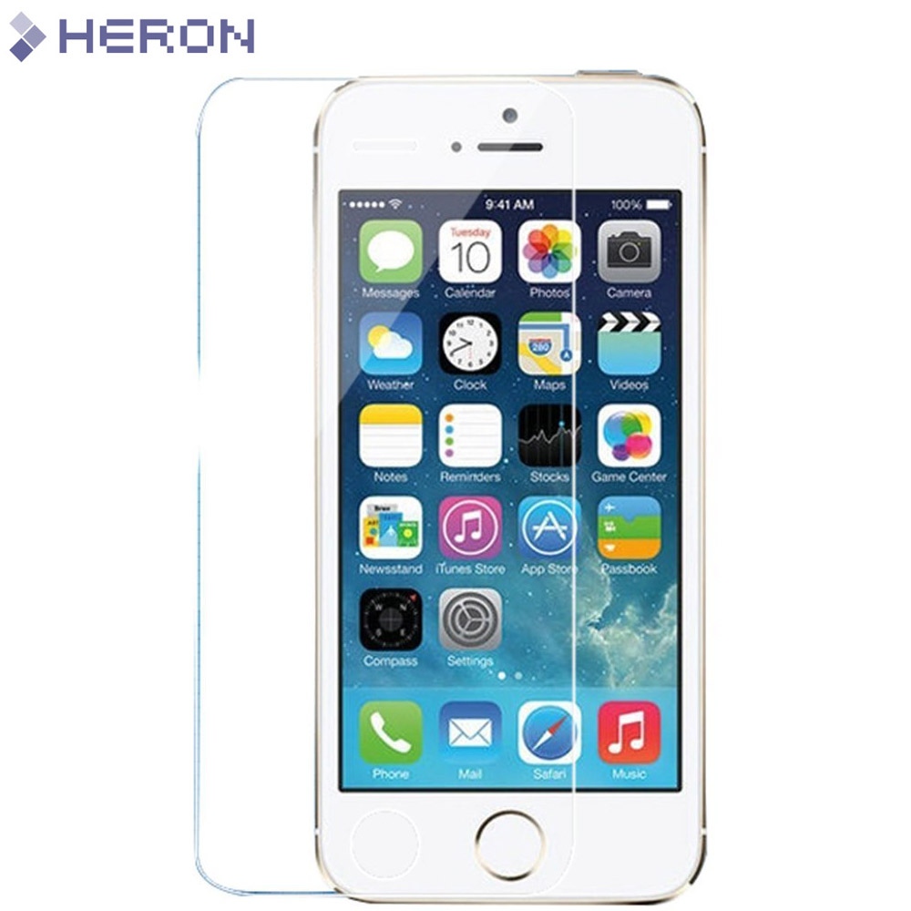 0.3mm Tempered Glass Film for iPhone 5 5s 9H Hard 2.5D Screen Protector for iPhone 6 6s 6 plus SE 4 4S with Clean Tools