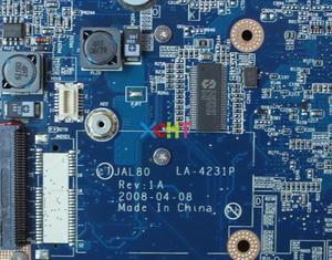 Image 4 - Материнская плата для ноутбука Dell Vostro, протестированная материнская плата для ноутбука Dell Vostro 1310, 0R511C, R511C, JAL80,