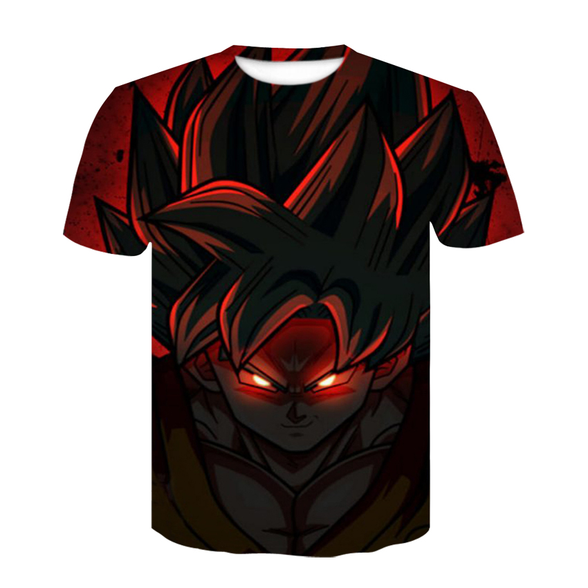 Dragon Ball Z T-shirts Mens Fashion 3D  Printing Super Saiyan Go ballistic Son Goku Black Vegeta Dragonball 3D print Tights