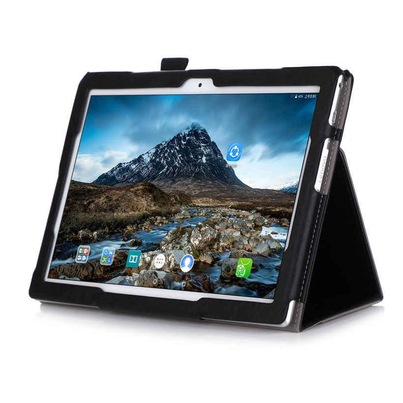 กรณีหรูหราสำหรับ Lenovo TAB4 Tab 4 10 TB-X304L TB-X304F TB-X304N Funda แท็บเล็ต PU หนังผู้ถือขาตั้ง + ฟิล์ม + ปากกา